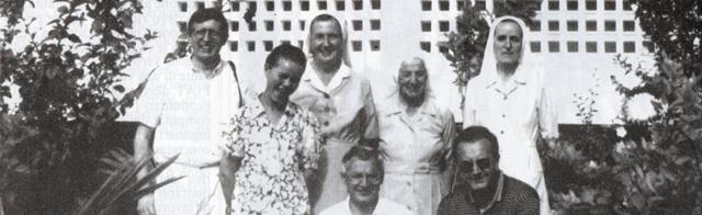 Visita di un gruppo di preti italiani a Joaquim Gomes