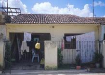 La casa degli italiani. Qui vengono ospitati i volontari