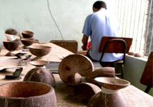 Laboratorio artigianale a Joaquim Gomes
