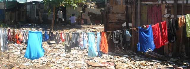 Una Favela a Maceiò, nel Nordest del Brasile