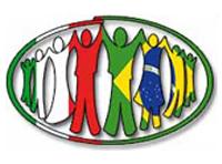Il Logo degli Amici di Joaquim Gomes con colori delle bandiere italiana e brasiliana