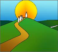 Disegno: in cammino verso Gesù