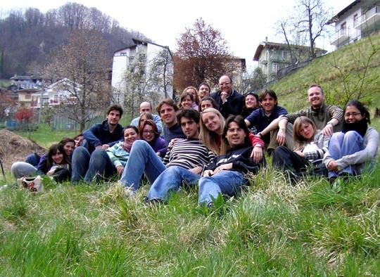 Il gruppo dei partecipanti al ritiro Traves (TO) 2008
