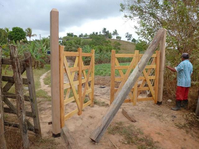 Lavori in corso progetti che crescono amici di joaquim for Costruire cancello legno