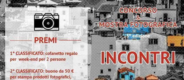 """Concorso Fotografico """"Incontri"""" per la Festa 2017"""