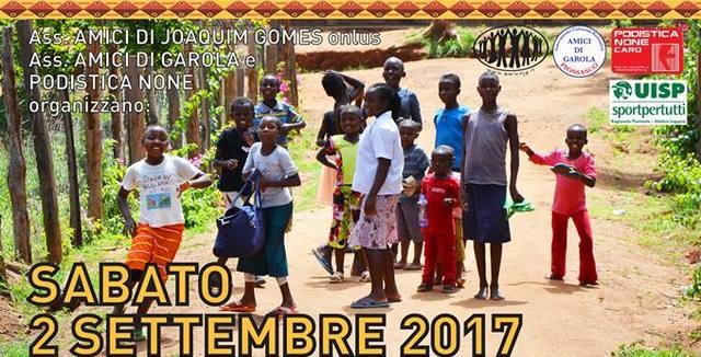 "2/09: corsa-camminata di solidarietà ""Rungatunga"" alla Festa di Garola!"