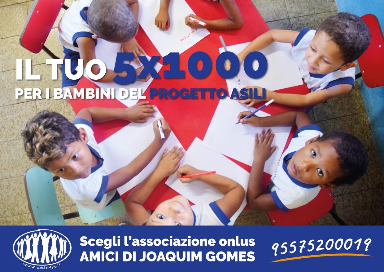 5 per 1000 2019: sostieni i bimbi degli Asili!